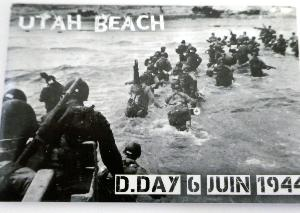 MAGNET D-DAY 1944 UTAH BEACH