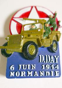 MAGNET  D-DAY 1944 JEEP