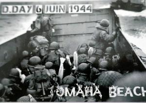 MAGNET D DAY 1944 OMAHA BEACH
