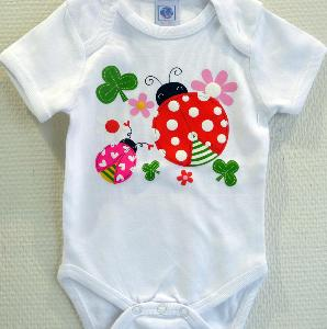 BODY ENFANT COCCINELLE